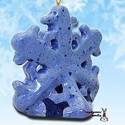 Сувениры и подарки handmade. Livemaster - original item Snowflake, bell. Handmade.