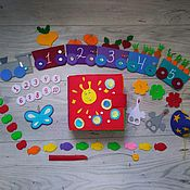 Куклы и игрушки handmade. Livemaster - original item the book felt. Handmade.