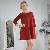 Одежда handmade. Livemaster - original item Comfortable cherry dress with A style, dress for pregnant. Handmade.