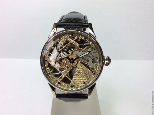 Часы ручной работы. Ярмарка Мастеров - ручная работа. Купить Наручные часы ручной работы.С натуральным бриллиантом 149. Handmade.