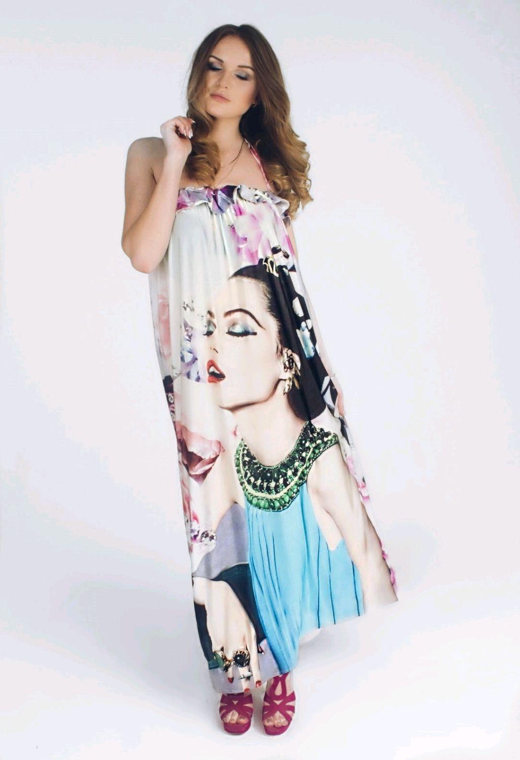 Платья сшитые из купонной ткани фото 947