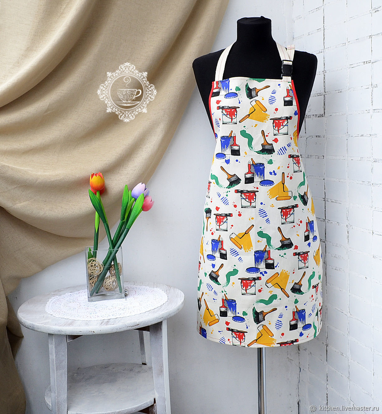 Unisex Paint Apron, Aprons, Moscow,  Фото №1