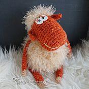 Куклы и игрушки handmade. Livemaster - original item Knitted fluffy sheep. Handmade.