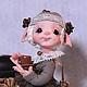 Коллекционные куклы ручной работы. Ярмарка Мастеров - ручная работа. Купить Кофея(Кофейное Зёрнышко). Handmade. Фея, кофея