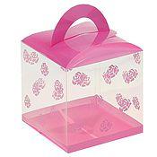 Материалы для творчества ручной работы. Ярмарка Мастеров - ручная работа коробка пластиковая сборная Розовые цветочки 12х12х12. Handmade.