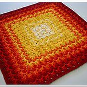 Для дома и интерьера handmade. Livemaster - original item Colorful knitted handmade carpet from cord Italy-2. Handmade.