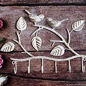 Housekeeper handmade. Livemaster - original item The housekeeper wrought iron birds. Handmade.