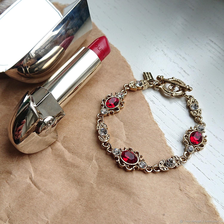 Винтаж: Браслет 1928 Jewelry - Элегантные изгибы, Браслеты винтажные, Москва,  Фото №1