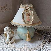"""Для дома и интерьера ручной работы. Ярмарка Мастеров - ручная работа Лампа-светильник """"В окружении роз"""". Handmade."""