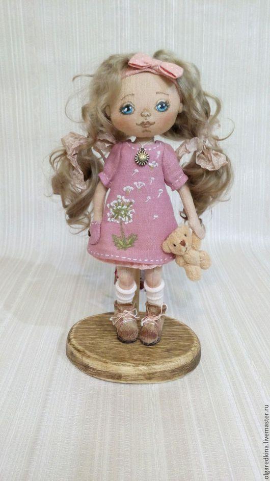 Куклы тыквоголовки ручной работы. Ярмарка Мастеров - ручная работа. Купить Текстильная кукла -тыквоголовка.. Handmade. Кукла ручной работы