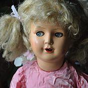Винтаж handmade. Livemaster - original item Vintage roschi doll. Handmade.