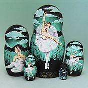 Русский стиль handmade. Livemaster - original item Matryoshka with the image of the ballet