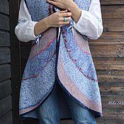Одежда ручной работы. Ярмарка Мастеров - ручная работа Индийский Бархат. Жилет.. Handmade.