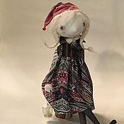 Куклы и игрушки ручной работы. Ярмарка Мастеров - ручная работа Кукла Гномушка с фонариком. Handmade.