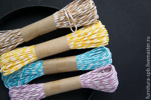 Другие виды рукоделия ручной работы. Ярмарка Мастеров - ручная работа. Купить Рафия витая для упаковки, скрапбукинга. Фурнитура для творчества. Handmade.