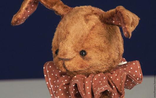Мишки Тедди ручной работы. Ярмарка Мастеров - ручная работа. Купить заяц Василий ( 19 см ). Handmade.