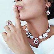 handmade. Livemaster - original item Necklace Garnet. Handmade.