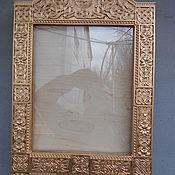 Картины и панно ручной работы. Ярмарка Мастеров - ручная работа Киот для иконы. Handmade.
