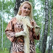 """Одежда ручной работы. Ярмарка Мастеров - ручная работа Авторское валяное пальто """"Safari"""". Handmade."""
