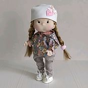 Куклы и игрушки handmade. Livemaster - original item Doll with clothes. Handmade.