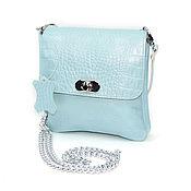 Сумки и аксессуары handmade. Livemaster - original item Women`s handbag leather blue breeze Fashion C57-971. Handmade.