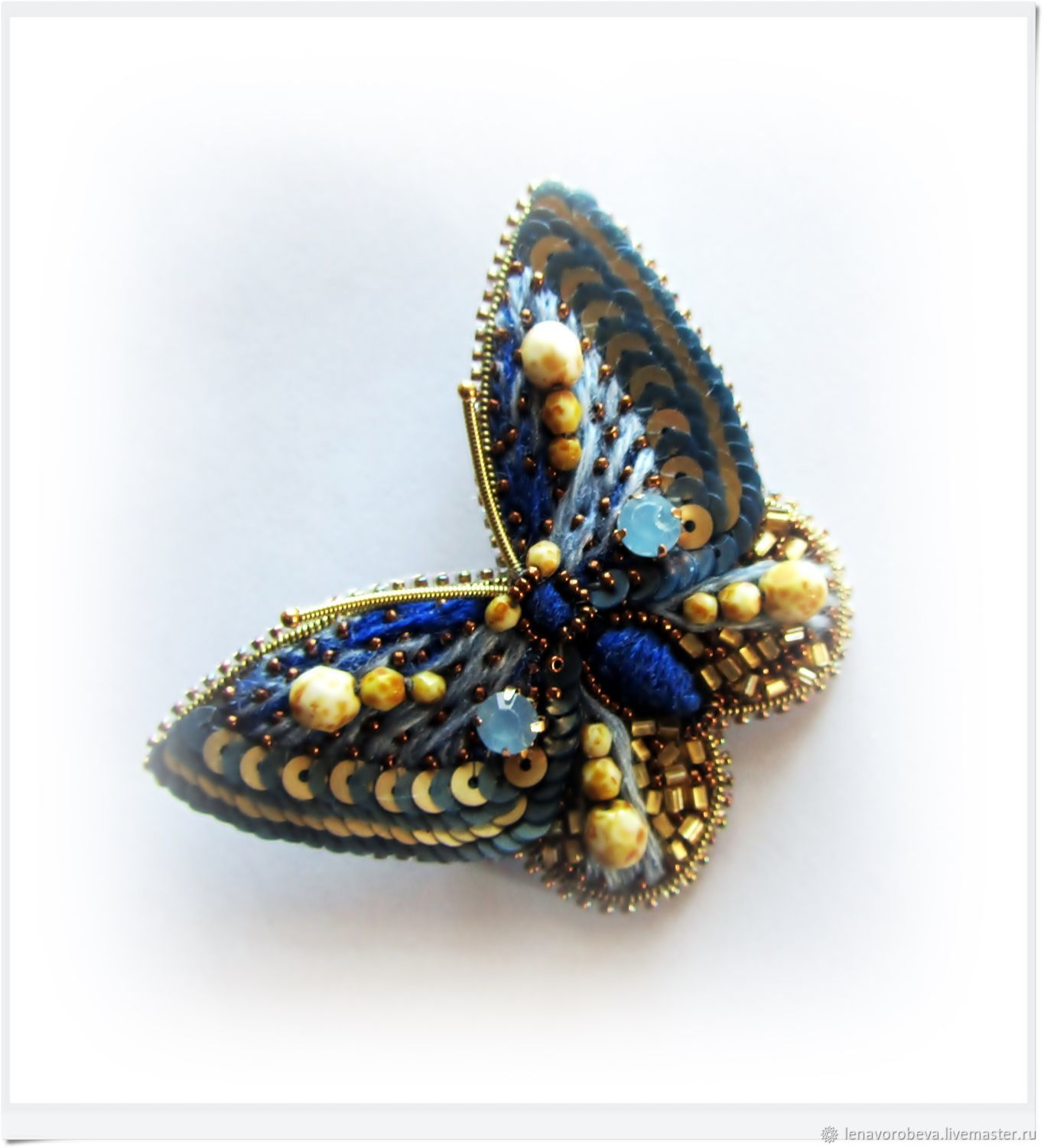 Brooch 'Butterfly-beauty' - 6, Brooches, Voronezh,  Фото №1
