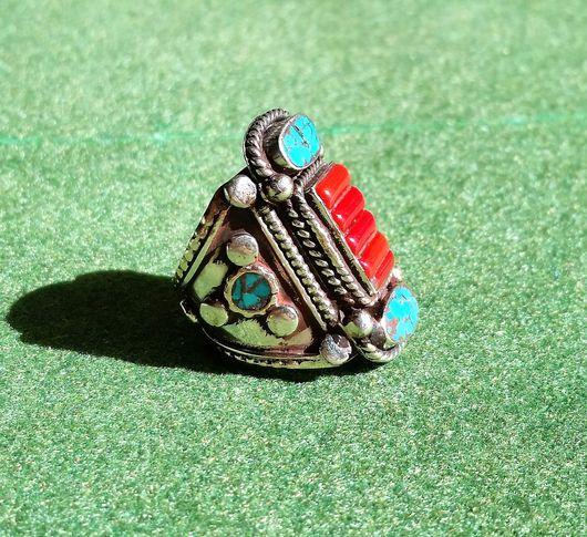 Кольца ручной работы. Ярмарка Мастеров - ручная работа. Купить КОЛЬЦО ИНКА 1 (размер 18,50), серебро, ручная работа. Handmade.