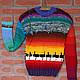 Кофты и свитера ручной работы. Ярмарка Мастеров - ручная работа. Купить африкай. Handmade. Унисекс, особая, аргентинская шерсть