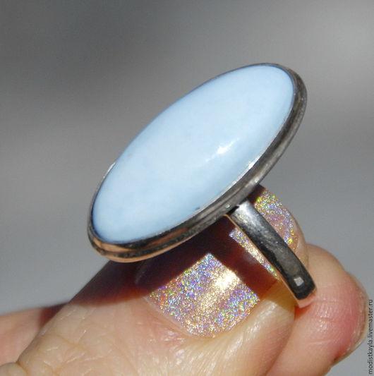 Кольца ручной работы. Ярмарка Мастеров - ручная работа. Купить Кольцо с бирюзой (Р54). Handmade. Бирюзовый, украшение с бирюзой, бирюза