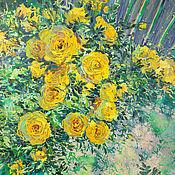 Картины и панно handmade. Livemaster - original item Oil painting on canvas Summer delight from the series Flowers for inspiration. Handmade.