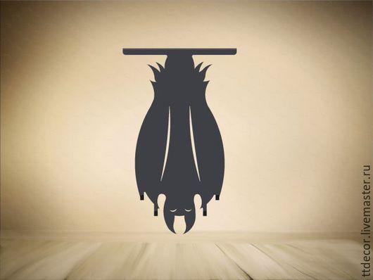 """Прихожая ручной работы. Ярмарка Мастеров - ручная работа. Купить Вешалка для сумок """"Летучая мышь"""". Handmade. Вешалка, для дома и интерьера"""