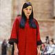 """Верхняя одежда ручной работы. Ярмарка Мастеров - ручная работа. Купить валяное пальто """"красное и черное"""". Handmade. Ярко-красный"""