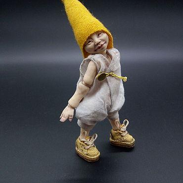 """Куклы и игрушки ручной работы. Ярмарка Мастеров - ручная работа Шарнирная оригинальная кукла """"Еся"""". Handmade."""