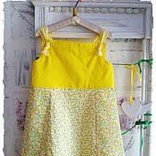 Работы для детей, handmade. Livemaster - original item Crochet dress for girls. Handmade.
