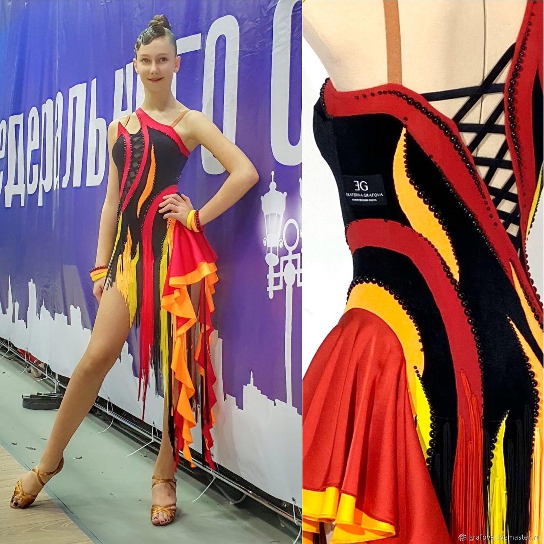 Платье на латину для Ю1, Платья, Москва,  Фото №1