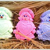 """Косметика ручной работы. Ярмарка Мастеров - ручная работа набор мыла  """"Моей куколке"""". Handmade."""