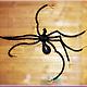 """Подарки на Хэллоуин ручной работы. Ярмарка Мастеров - ручная работа. Купить """"Взгляд Хэллоуина"""" - паук, летучая мышь и люстра из воздушных шаров. Handmade."""
