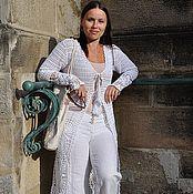Одежда handmade. Livemaster - original item Cardigan summer crochet