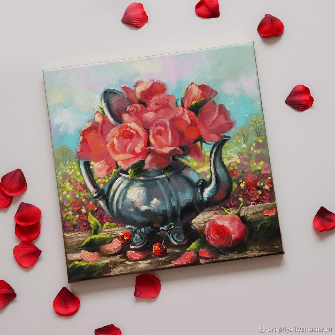 Дуновение цветочного, Картины, Минск,  Фото №1