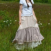 Одежда handmade. Livemaster - original item A set of skirts on the floor