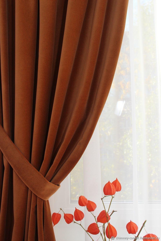 Бархатные шторы (хлопок 100%), Шторы, Королев,  Фото №1