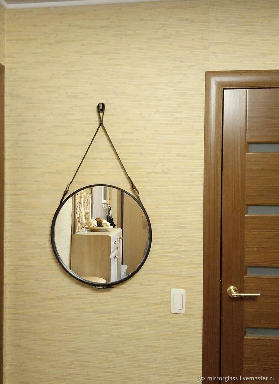 Круглое зеркало на ремне, Зеркала, Казань,  Фото №1