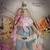 Куклы и игрушки ручной работы. Ярмарка Мастеров - ручная работа Интерьерная игрушка Заяц Мартин. Handmade.