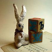 Куклы и игрушки ручной работы. Ярмарка Мастеров - ручная работа Маленький зайчик друг тедди. Handmade.
