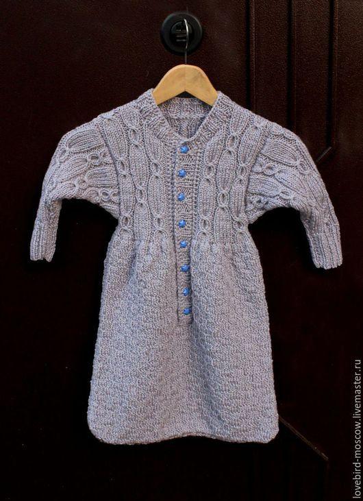 Одежда ручной работы. Ярмарка Мастеров - ручная работа. Купить Спальный комбинезон-мешок для малыша. Handmade. Серый, для новорожденного