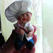 Куклы и игрушки ручной работы. Ярмарка Мастеров - ручная работа Поваренок!. Handmade.