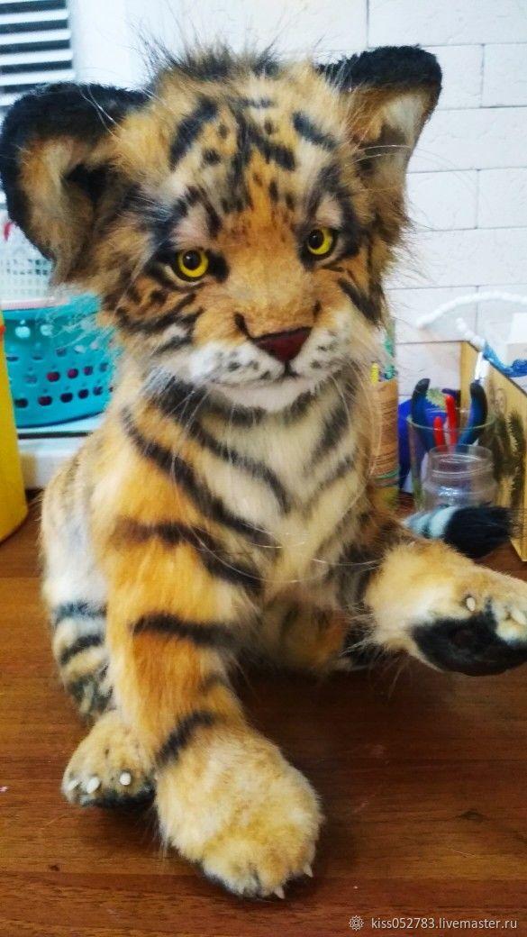 Tiger, Stuffed Toys, Ufa,  Фото №1