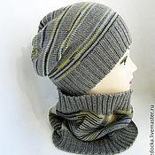 """Работы для детей, ручной работы. Ярмарка Мастеров - ручная работа комплект """"Bright mix"""" шапка и шарф-снуд для мальчика. Handmade."""
