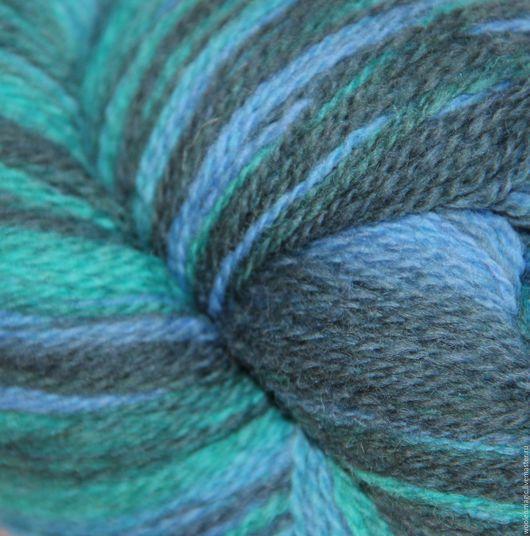 Вязание ручной работы. Ярмарка Мастеров - ручная работа. Купить Кауни Aqua (Аква) 8/1- 8/2. Handmade. Разноцветный
