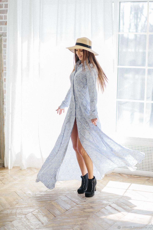 2f3c0d7b7dd Платья ручной работы. Ярмарка Мастеров - ручная работа. Купить Легкое  летнее платье из вискозы ...